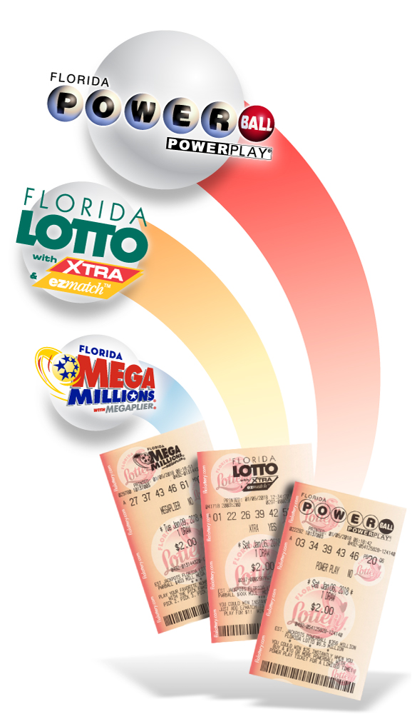 Florida POWERBALL, FLORIDA LOTTO, and Florida MEGA MILLIONS
