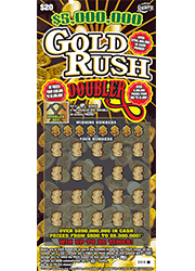 1322-Gold Rush Doubler Scratch-Off Ticket