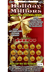 1326-Holiday Millions Scratch-Off Ticket