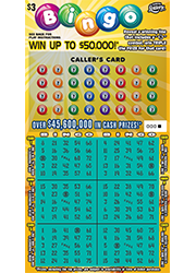 1327-Bingo Scratch-Off Ticket