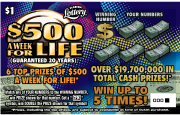 1350-$500 Week For Life Ticket
