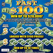 5011-FAST $100 Scratch-Off Ticket
